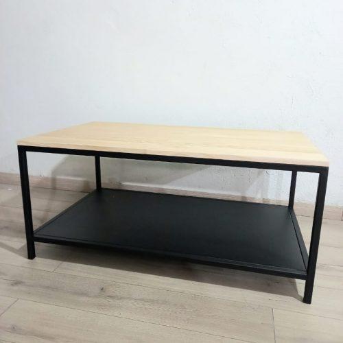 Mesa de centro metal madera
